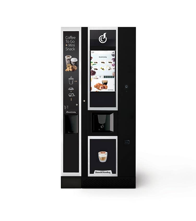 LEI600 Touch 21 + Modulo CoffeeToGo